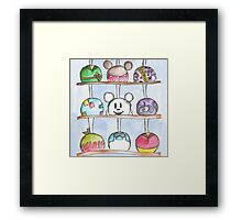 Caramel Apples Framed Print