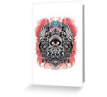 Mars Volta mystic eye Greeting Card