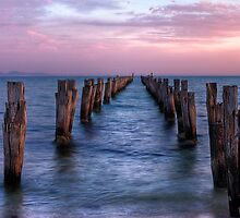 The Old Pier by Cecily McCarthy