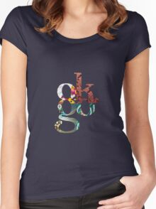 OK Go, All Four Albums Women's Fitted Scoop T-Shirt