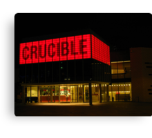 The Crucible, Sheffield Canvas Print