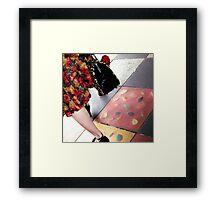 Acland Street Rose Framed Print