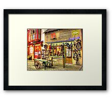 Shepherd Saddler  - HDR Framed Print