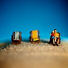 A Day At The Beach - Mini men by KitPhoto