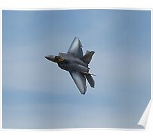 US Air Force F-22 Raptor  Poster
