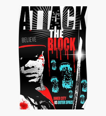 Attack The Block Movie Poster Poster