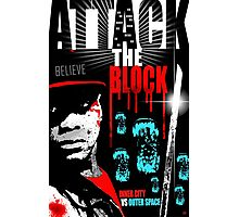 Attack The Block Movie Poster Photographic Print