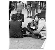 manchester market street Poster