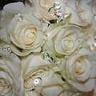 Bling 'n' White Roses by aussiebushstick