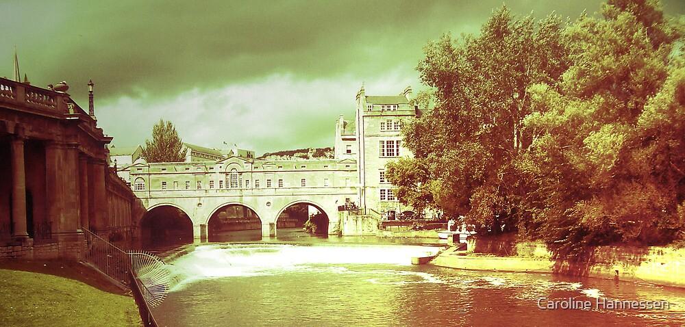 Rolling on a river, Bath - England by Caroline Hannessen