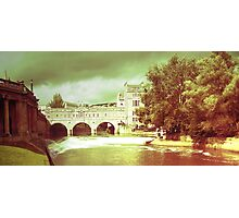 Rolling on a river, Bath - England Photographic Print