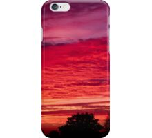 Crimson Sunset iPhone Case/Skin