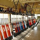 Mechanical Railway Signal box, Westbury, Wiltshire, UK by David A. L. Davies