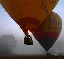 Balloon Launch, Yarra Valley by Clare McClelland
