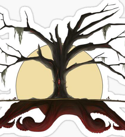Evil Cthulhu Tree Sticker