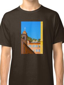 Architecture of Nice City, Southern France  Classic T-Shirt