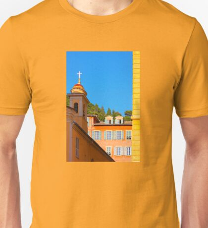 Architecture of Nice City, Southern France  Unisex T-Shirt