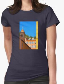 Architecture of Nice City, Southern France  Womens Fitted T-Shirt