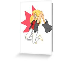 Are You Ready to Rock Greeting Card