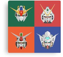Gundam Poster Series Canvas Print