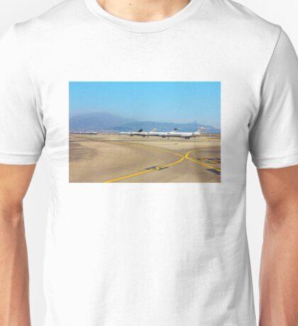 Nice Cote d'Azur Airport, Provence, FRANCE Unisex T-Shirt
