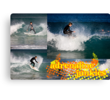 Adrenaline Junkies Canvas Print