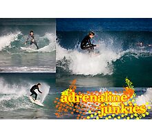 Adrenaline Junkies Photographic Print