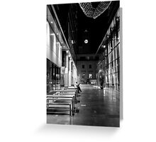 Some Quiet Time B&W Greeting Card