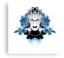 Rorschach Pinhead (Hellraiser) Canvas Print