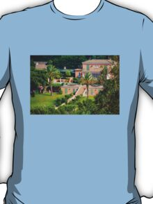 Luxury mansion on the gulf of Saint-Tropez - The French Riviera T-Shirt