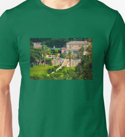 Luxury mansion on the gulf of Saint-Tropez - The French Riviera Unisex T-Shirt