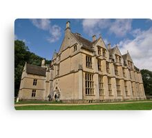 Woodchester Mansion Canvas Print