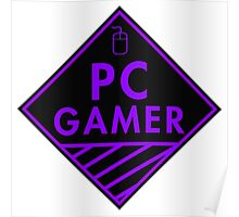Pc Gaming (purple) Poster