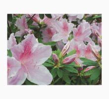 Azalea Flowers Atlanta, GA.  -- Spring Blooms I One Piece - Short Sleeve