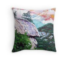 'Chimney Rock' Throw Pillow