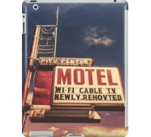 Retro Vintage Motel Sign iPad Case/Skin