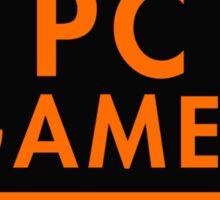 Pc Gaming (Orange) Sticker