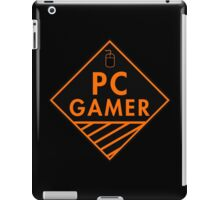 Pc Gaming (Orange) iPad Case/Skin