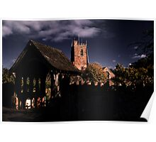 Lychgate and Tower Poster
