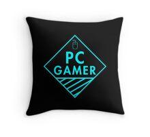 Pc Gaming (Blue) Throw Pillow
