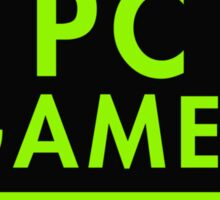 Pc Gaming (Green) Sticker