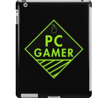 Pc Gaming (Green) iPad Case/Skin