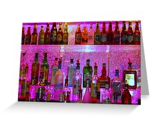 Bar Bubbles in New Orleans Greeting Card