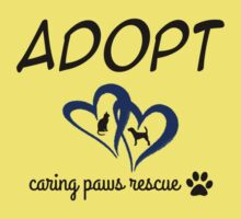 Caring Paws Rescue (blue) Kids Clothes