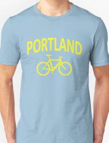 I Bike Portland, Oregon Unisex T-Shirt