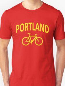 I Bike Portland, Oregon T-Shirt