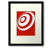 Bullseye! Framed Print