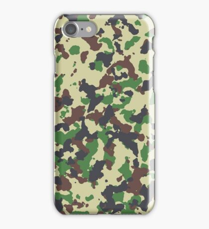 Camo Version 2 iPhone Case/Skin
