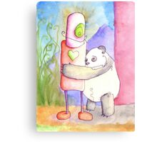 SILLY PANDA I HAVE NO FEELINGS Canvas Print