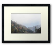 Styrian Mountains Framed Print